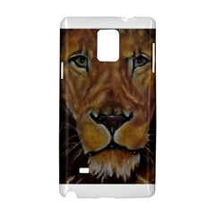 Cecil The African Lion Samsung Galaxy Note 4 Hardshell Case by timelessartoncanvas