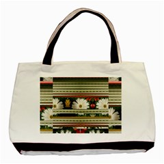 Pattern Flower Phone Cases Basic Tote Bag (Two Sides)  by infloence