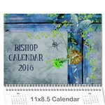 Bishop Cal 2016 - Wall Calendar 11  x 8.5  (12-Months)