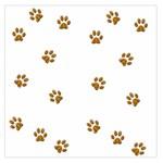Tiger Paw Large Satin Scarf (Square)