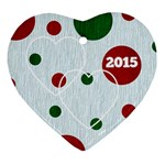 Heart Ornament 2015 - Ornament (Heart)