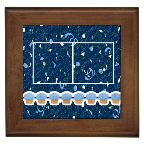 Birthday Framed Tile By Angela Anos   Framed Tile   2zky459mra74   Www Artscow Com Front