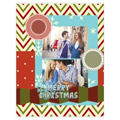 Xmas By Joy   Drawstring Bag (large)   3y5vdfieww7l   Www Artscow Com Front