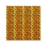 Just Tiger Small Satin Scarf (Square)