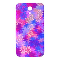 Pink And Purple Marble Waves Samsung Galaxy Mega I9200 Hardshell Back Case by KirstenStar