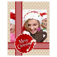 Xmas By M Jan   Drawstring Bag (large)   16z9eoa4en3q   Www Artscow Com Front