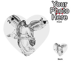 Angel Drawing Playing Cards 54 (Heart)