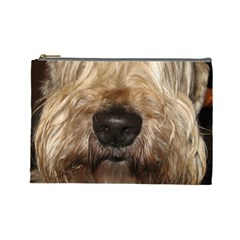 Wheaten Cosmetic Bag (Large)  by TailWags
