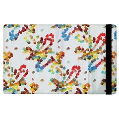 Colorful paint strokes Apple iPad 3/4 Flip Case by LalyLauraFLM