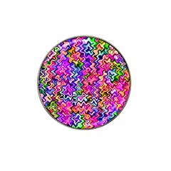 Swirly Twirly Colors Hat Clip Ball Marker (10 Pack) by KirstenStar