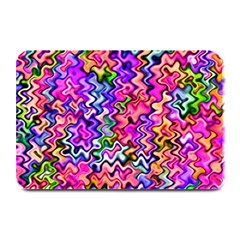 Swirly Twirly Colors Plate Mats by KirstenStar