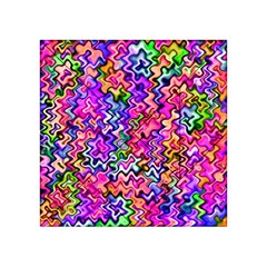 Swirly Twirly Colors Acrylic Tangram Puzzle (4  X 4 ) by KirstenStar