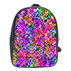 Swirly Twirly Colors School Bags (xl)  by KirstenStar