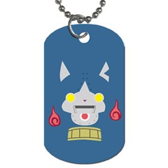 Robonyann Reverse Print Dog Tag (one Side) by JibanyannYokai