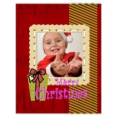 Xmas By Man   Drawstring Bag (large)   11r8cr0xbos6   Www Artscow Com Back