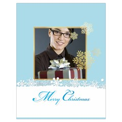 Xmas By Angena Jolin   Drawstring Bag (large)   8xm62dh891u3   Www Artscow Com Back