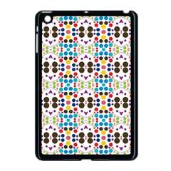 Colorful Dots Pattern Apple Ipad Mini Case (black) by LalyLauraFLM