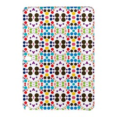 Colorful Dots Patternsamsung Galaxy Tab Pro 10 1 Hardshell Case