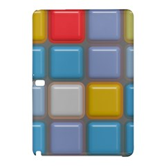 Shiny Squares Pattern	samsung Galaxy Tab Pro 12 2 Hardshell Case by LalyLauraFLM