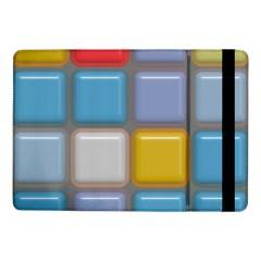 Shiny Squares Patternsamsung Galaxy Tab Pro 10 1  Flip Case by LalyLauraFLM
