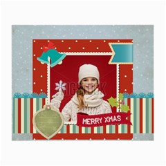 Xmas By Xmas   Small Glasses Cloth (2 Sides)   8jgb3817qaqo   Www Artscow Com Front