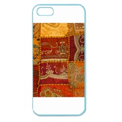 India Print Realism Fabric Art Apple Seamless Iphone 5 Case (color) by TheWowFactor