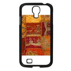 India Print Realism Fabric Art Samsung Galaxy S4 I9500/ I9505 Case (black) by TheWowFactor