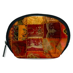 India Print Realism Fabric Art Accessory Pouches (Medium)  by TheWowFactor