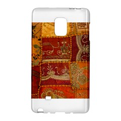 India Print Realism Fabric Art Galaxy Note Edge by TheWowFactor