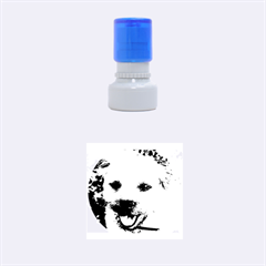 Border Terrier Rubber Round Stamps (Small) by TailWags