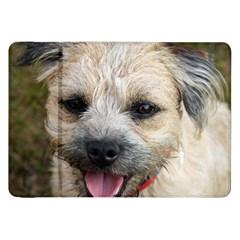 Border Terrier Samsung Galaxy Tab 8.9  P7300 Flip Case by TailWags