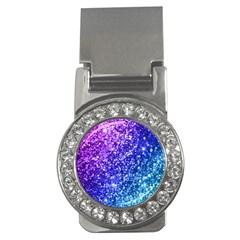 Glitter Ocean Bokeh Money Clips (cz)  by KirstenStar