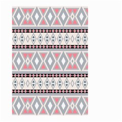 Fancy Tribal Border Pattern Soft Small Garden Flag (two Sides) by ImpressiveMoments