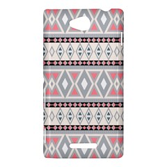 Fancy Tribal Border Pattern Soft Sony Xperia C (S39H) by ImpressiveMoments