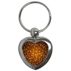 Gold Stars Key Chains (heart)  by KirstenStar