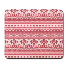 Fancy Tribal Borders Pink Large Mousepads by ImpressiveMoments