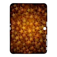 Gold Stars Samsung Galaxy Tab 4 (10 1 ) Hardshell Case  by KirstenStar
