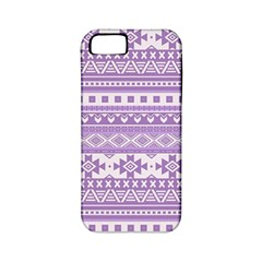 Fancy Tribal Borders Lilac Apple Iphone 5 Classic Hardshell Case (pc+silicone) by ImpressiveMoments