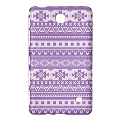 Fancy Tribal Borders Lilac Samsung Galaxy Tab 4 (7 ) Hardshell Case  by ImpressiveMoments
