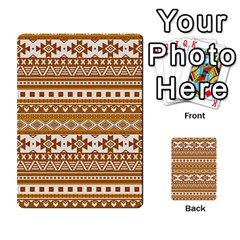 Fancy Tribal Borders Golden Multi Purpose Cards (rectangle)  by ImpressiveMoments