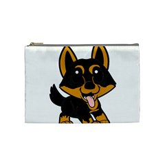 Lancashire Heeler Cartoon Cosmetic Bag (Medium)  by TailWags