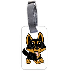 Lancashire Heeler Cartoon Luggage Tags (Two Sides) by TailWags