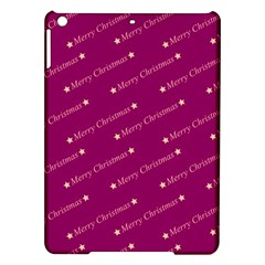 Merry Christmas,text,bordeaux Ipad Air Hardshell Cases by ImpressiveMoments