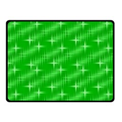 Many Stars, Neon Green Fleece Blanket (small) by ImpressiveMoments