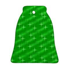 Many Stars, Neon Green Ornament (Bell)