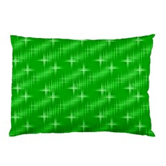 Many Stars, Neon Green Pillow Cases (two Sides) by ImpressiveMoments
