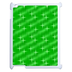 Many Stars, Neon Green Apple Ipad 2 Case (white) by ImpressiveMoments