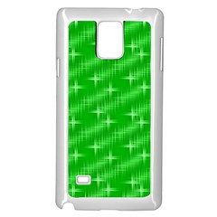 Many Stars, Neon Green Samsung Galaxy Note 4 Case (white) by ImpressiveMoments