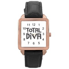 Total Diva  Rose Gold Watches by OCDesignss