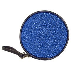 Sparkling Glitter Blue Classic 20-CD Wallets by ImpressiveMoments